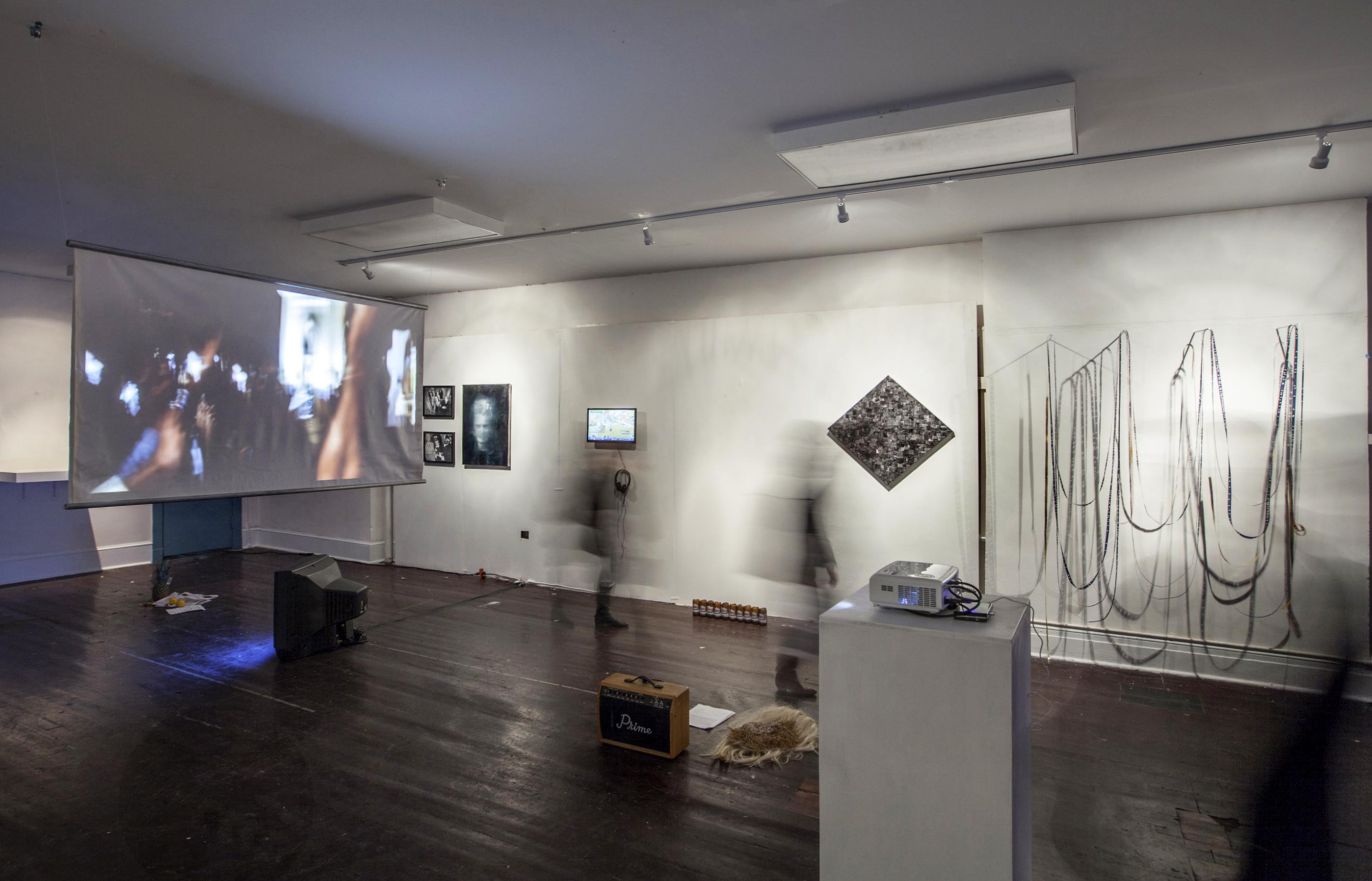 SPRING/BREAK, 2014Installation view, The Sun That Never Sets: Spectacle and Normalcy in Time, Curated by Vanessa Albury & Rachel RamplemanPhoto credit Aaron Alden