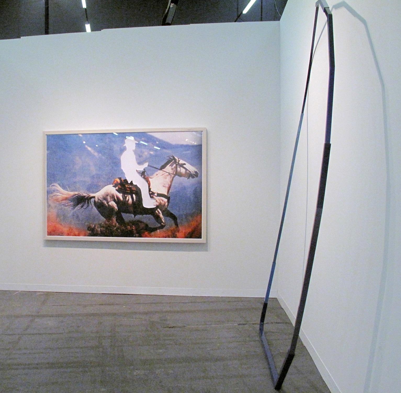 Figge von Rosen Galerie, Cologne/Berlin, Armory Presents Jose Dàvila and Ignacio Uriarte, Installation view, The Armory Show, New York, 2014, Pier 94