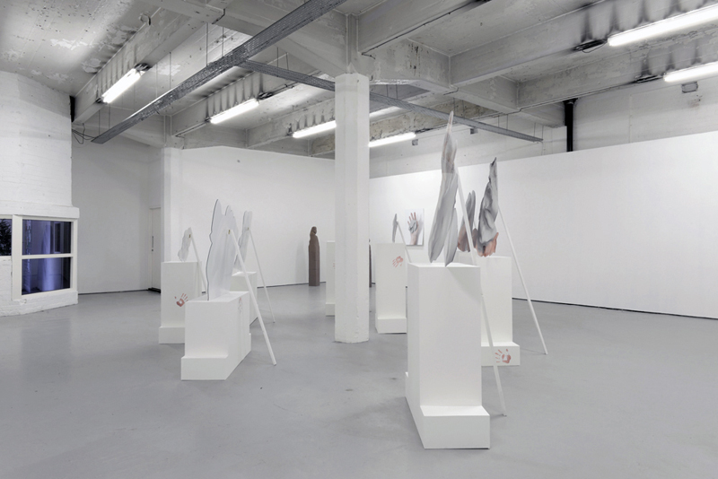 Rachel de Joode, Installation view, The Matter Of It Being A Stone, SWG3 Gallery, Glasgow Image courtesy of the gallery, 2014