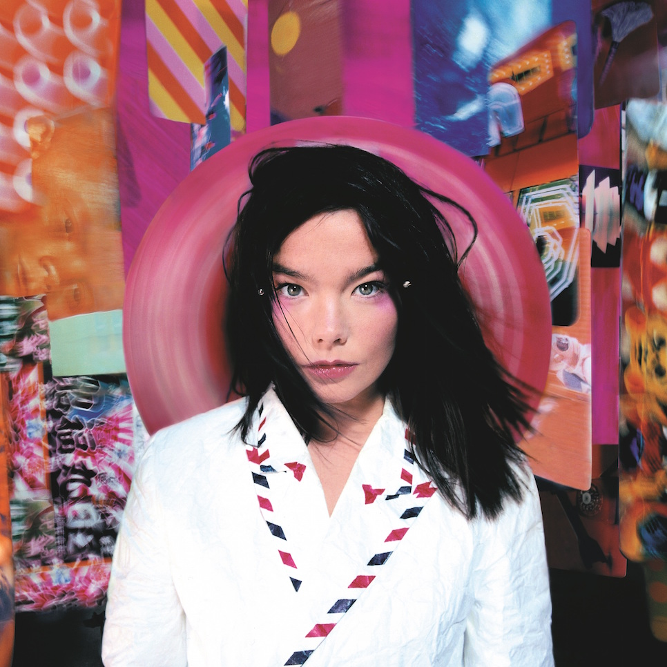 Bjork, Post, Album cover, 1995, Photograph by Stephane Sednaoui, Image courtesy of Wellhart LTD and One Little Indian