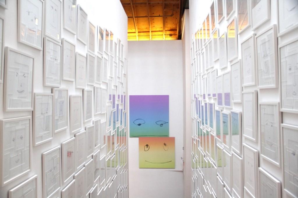 "Rob Pruitt, ""50th Birthday Bash"", Installation view, Brant Foundation, Greenwich, Connecticut, Photograph by Job Piston, 2015"