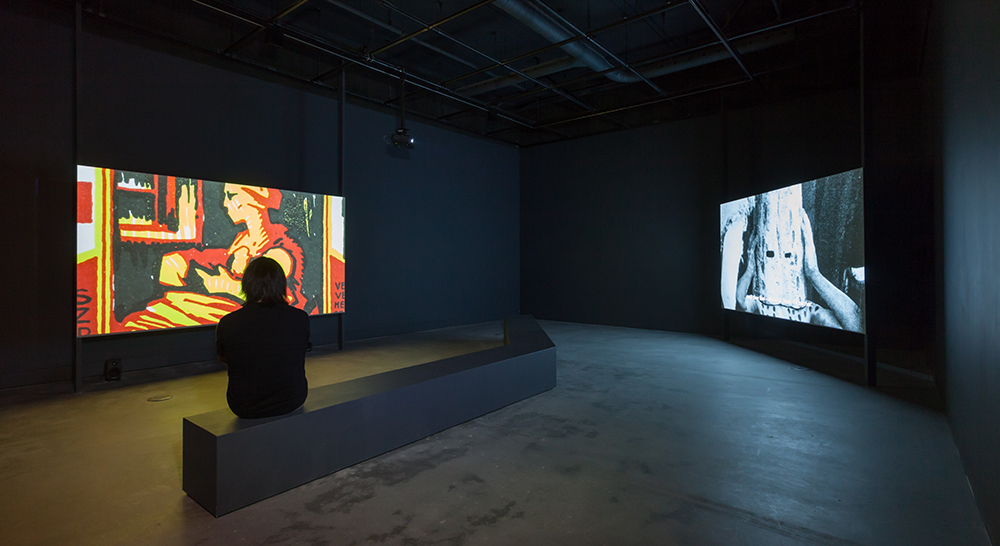 Installation View: The Offspring Resembles the Parent and Silphium