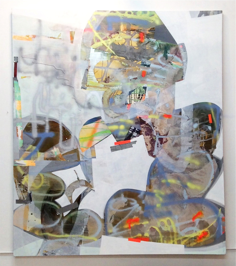 Erika Ranee, For Real 84 x 72 (2015), Mixed Media on Canvas, 84 in x 72 in, Photograph courtesy of the artist, 2015