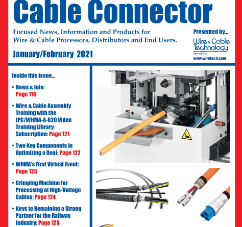 Wire Harness & Cable Connector January Cover