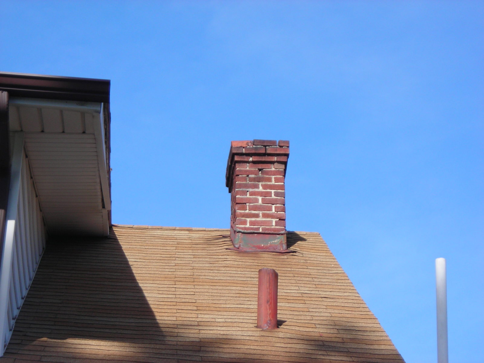 Masonry chimney in need of repair