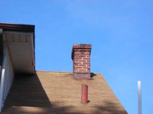 Masonry chimney in need of repair