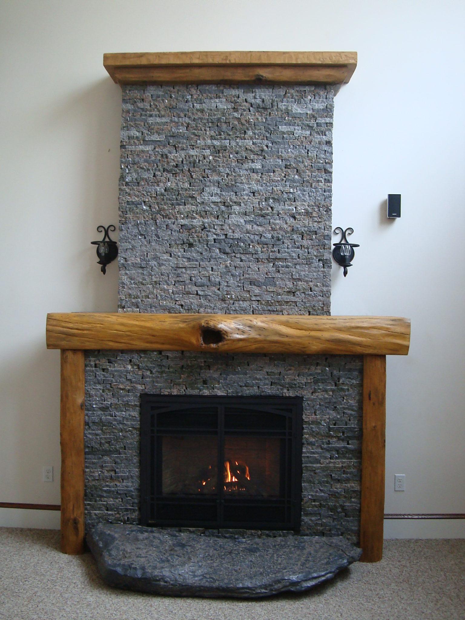 gas fireplace