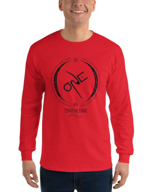 Men's Red Long Sleeve Shirt