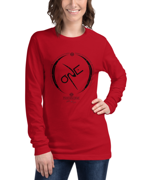 Red Long-Sleeve Shirt
