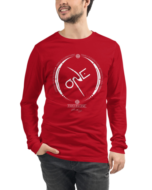 Red Long-Sleeve Shirt