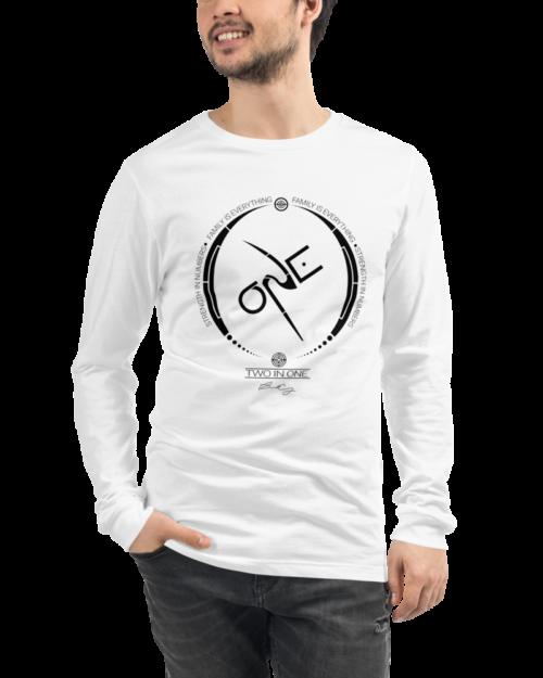 White Long-Sleeve Shirt