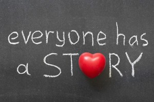 stepping out of your story