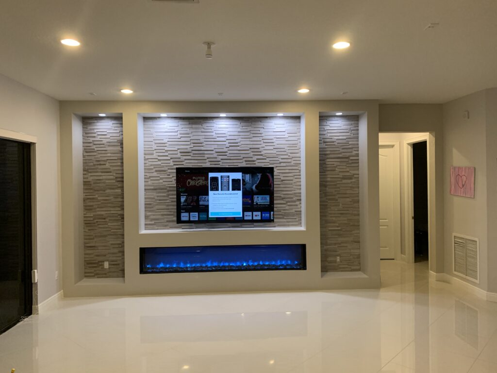 Savoi Residence Accent Wall
