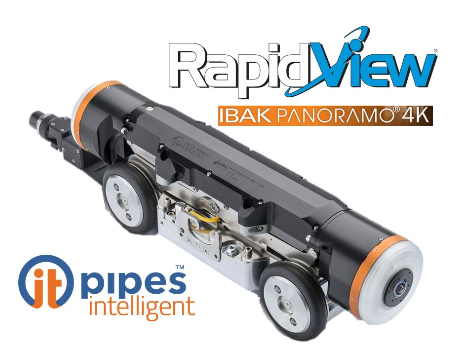 Ibak Rapidview 4k panoramo camera compatible with ITpipes
