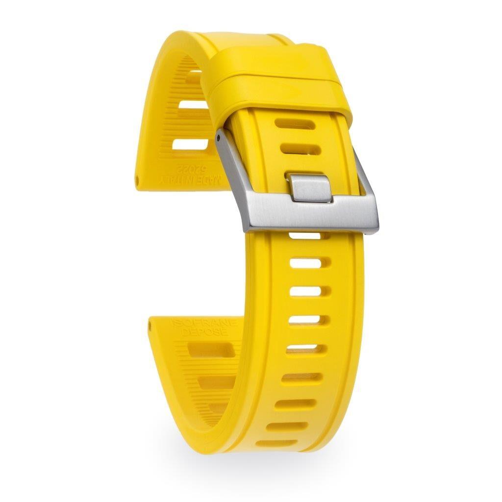 yellow sport watch band