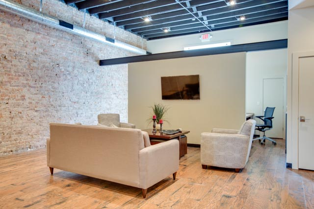 New Downtown Office Space - Sitting Area