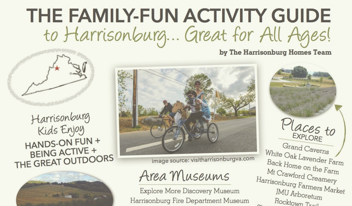 Family Fun Activity Guide to Harrisonburg