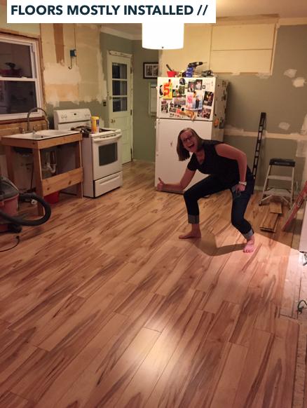 Kitchen Remodel Progress