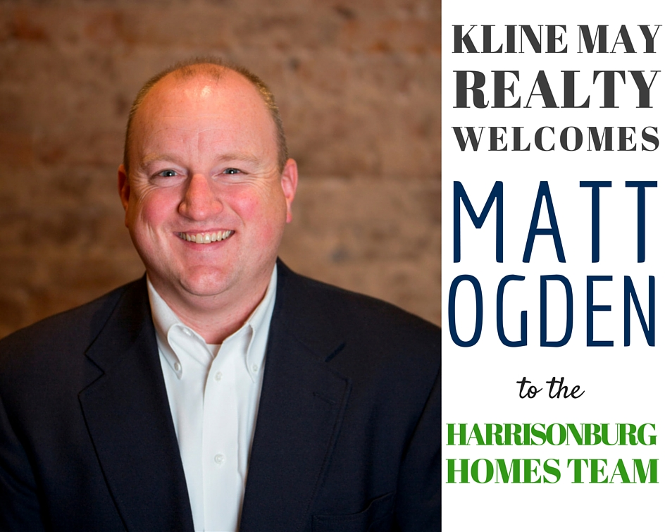 Matt Ogden Joins The Harrisonburg Homes Team @ Kline May Realty | Harrisonblog