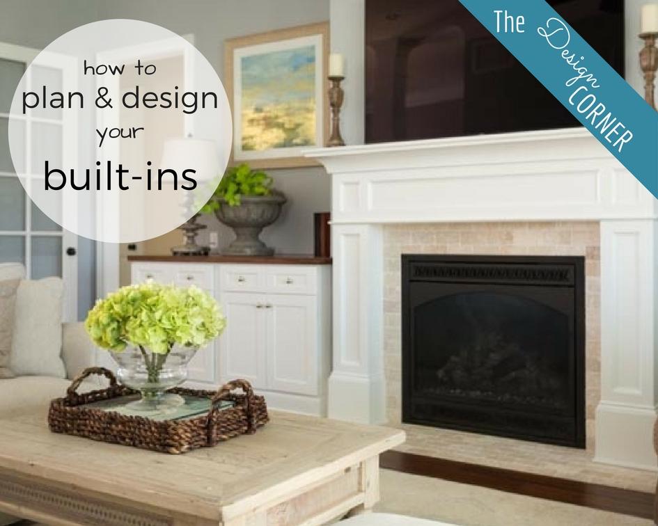 The Design Corner   Built-Ins