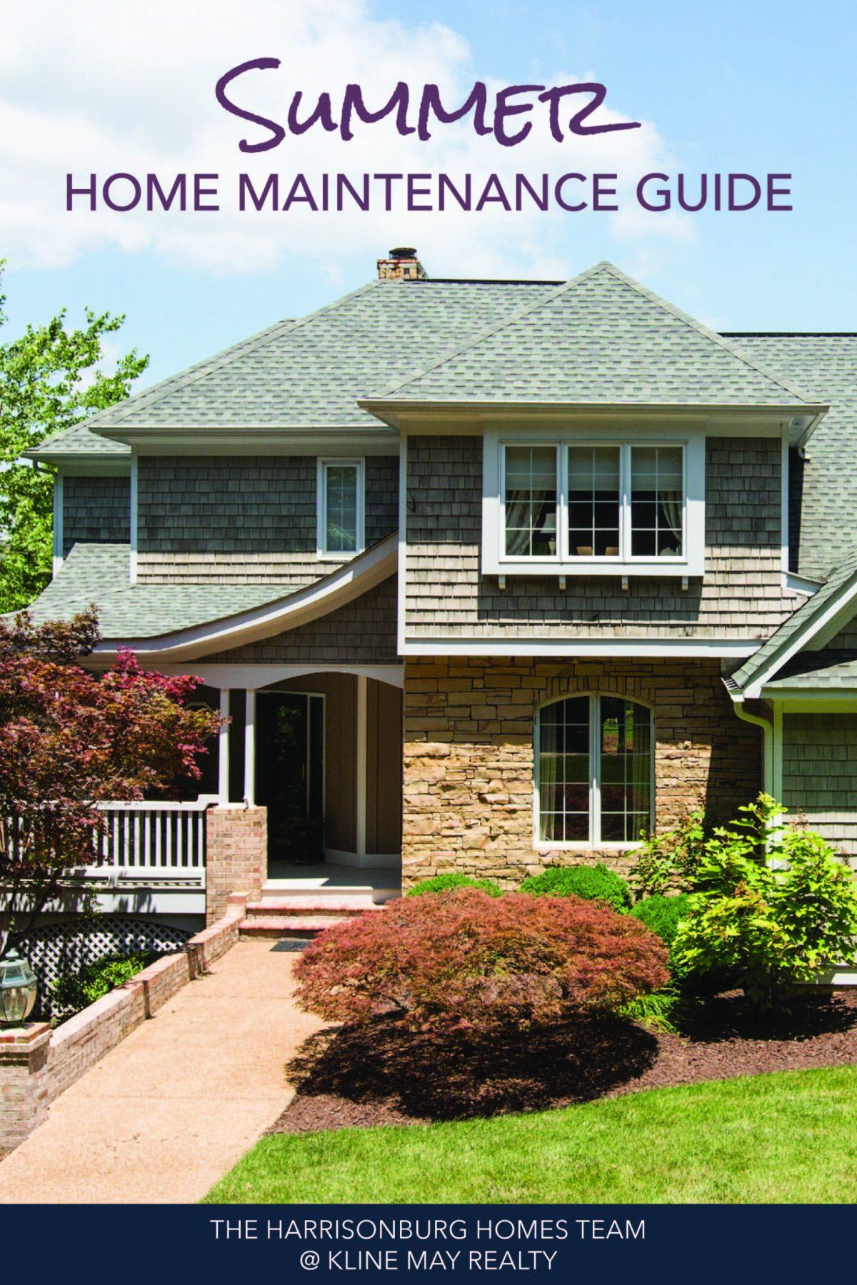 Summer Home Maintenance Tasks_Summer Home Maintenance Guide | Harrisonblog