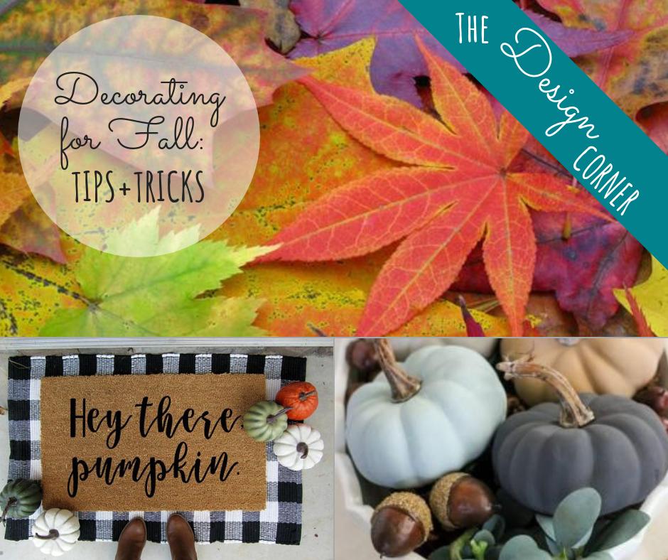 Design Corner Decorating for Fall | Harrisonblog