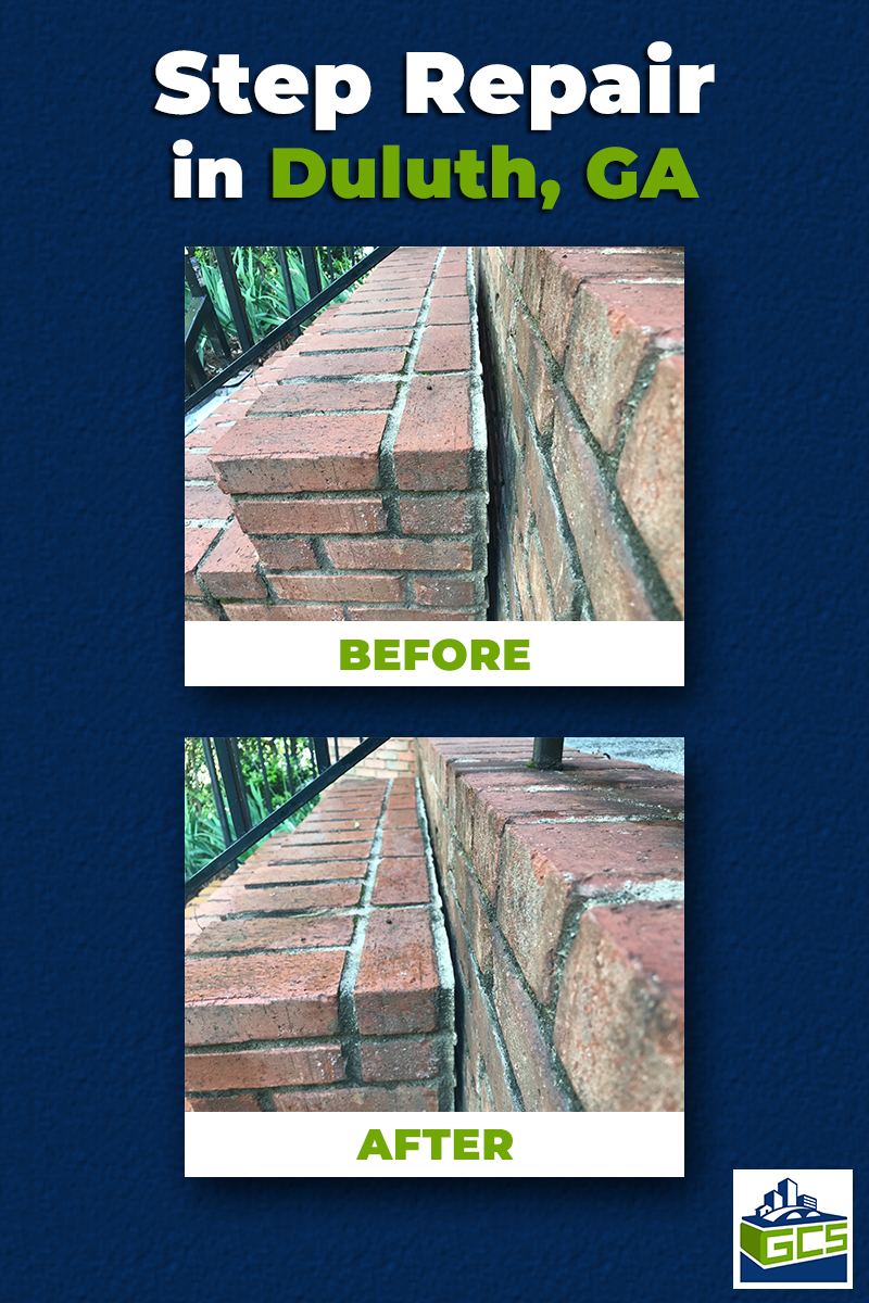 Step Repair in Duluth, GA