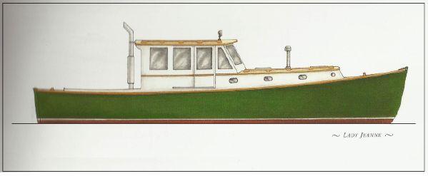 42′ Joel White Power Cruiser