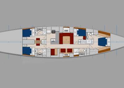 Design Concept 82 Foot R08, Brooklin Boat Yard