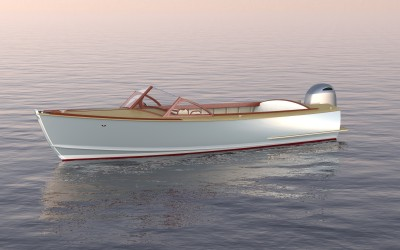 BBY 24-foot Runabout