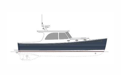 BBY 39′ Express Cruiser