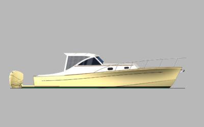 BBY 32 Express Cruiser