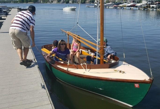 Marsh Hen Shoal Draft Lobster Picnic Boat for sale