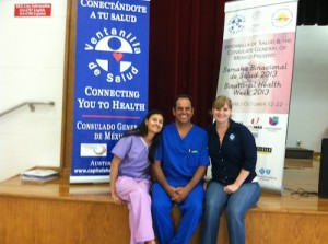 Dr. James Lee from Austin Chiropractic working along side The Ventanilla De Salud - Austin Chiropractic - Dr. James Lee
