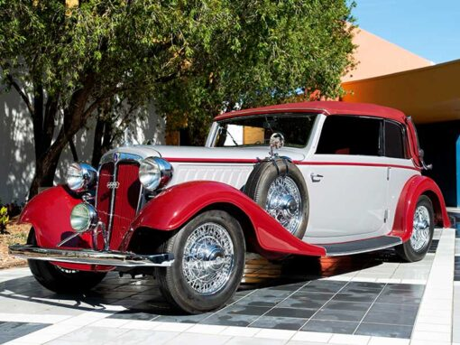 AUDI CABRIOLET – 1935 – GERMANY