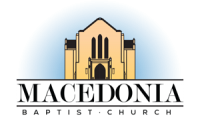 Macedonia Missionary Baptist Church Logo