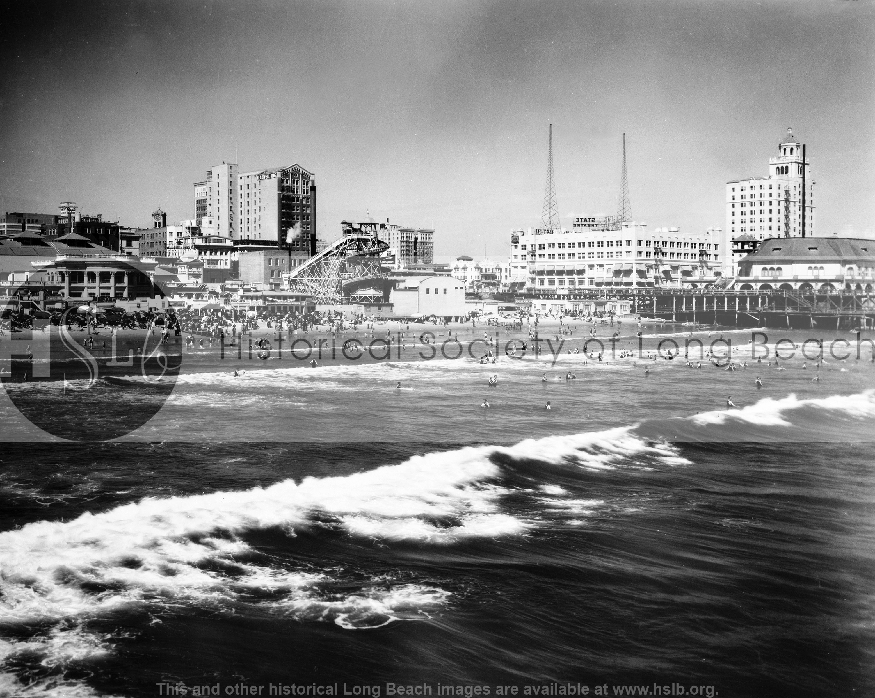 Beach with Pike, 1926