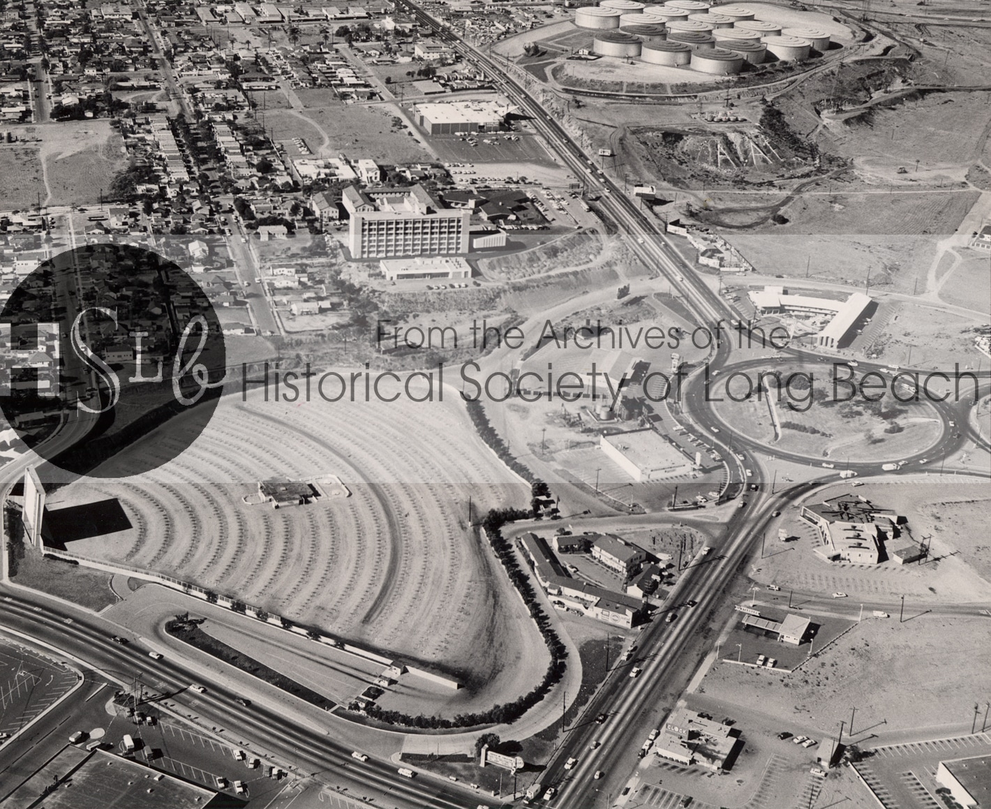 Traffic Circle area, 1960