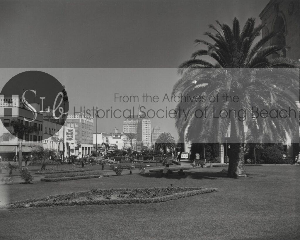 Municipal Auditorium Park, c. 1937