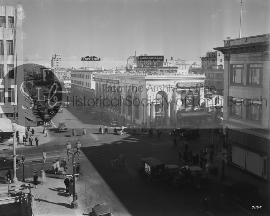 Pina Ave. and Broadway, 1930