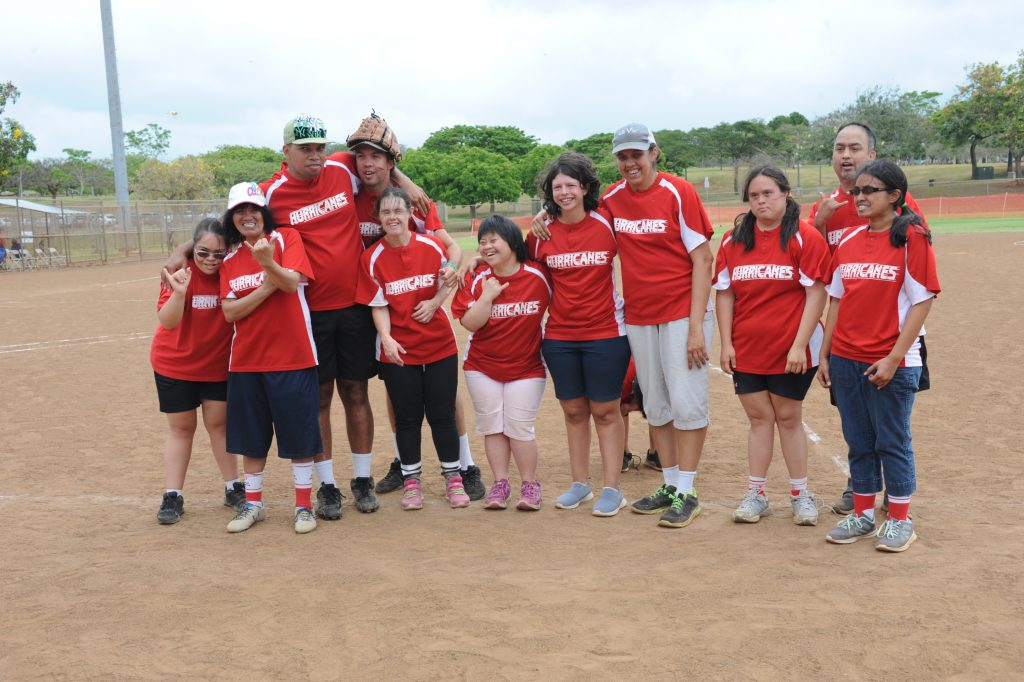 Maui softball team picture