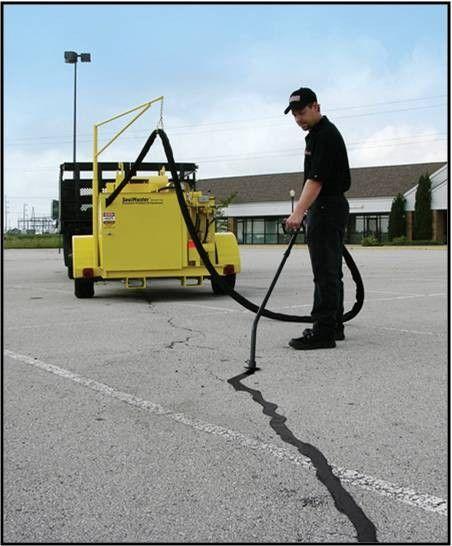 asphalt crack filling responsibility - sweeping.com