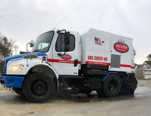 builders street sweeping - construction-site sweeping.com