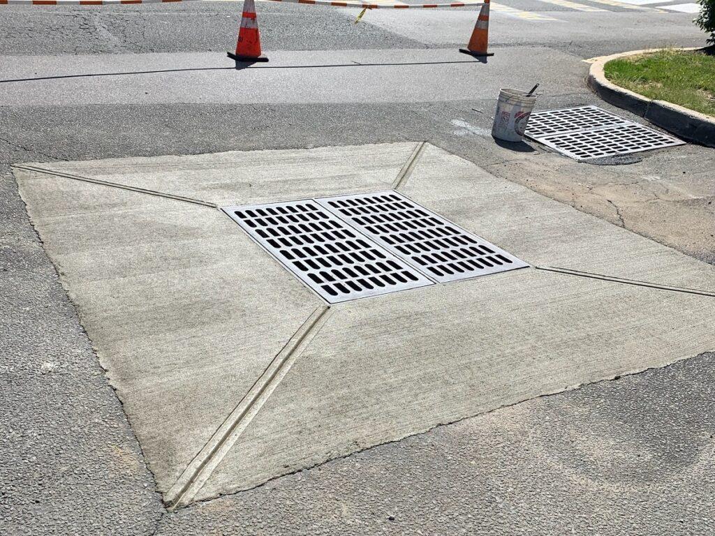 concrete repair - inlets