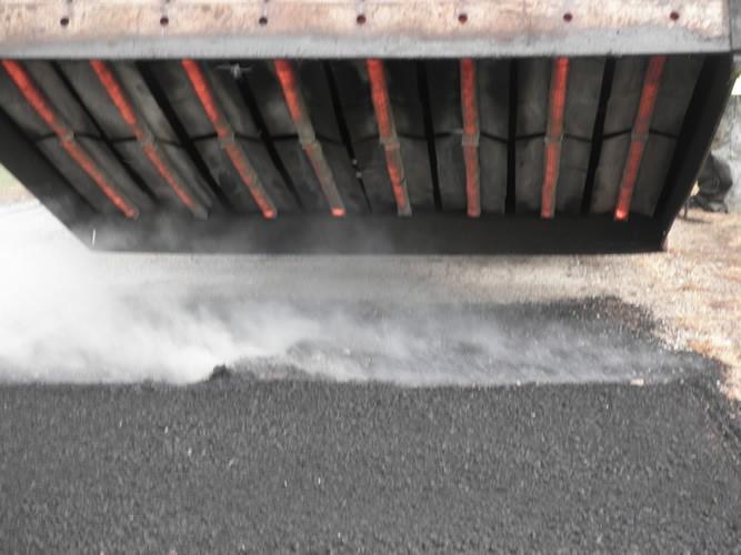Knipfing Asphalt Solutions specializes in infrared asphalt repair