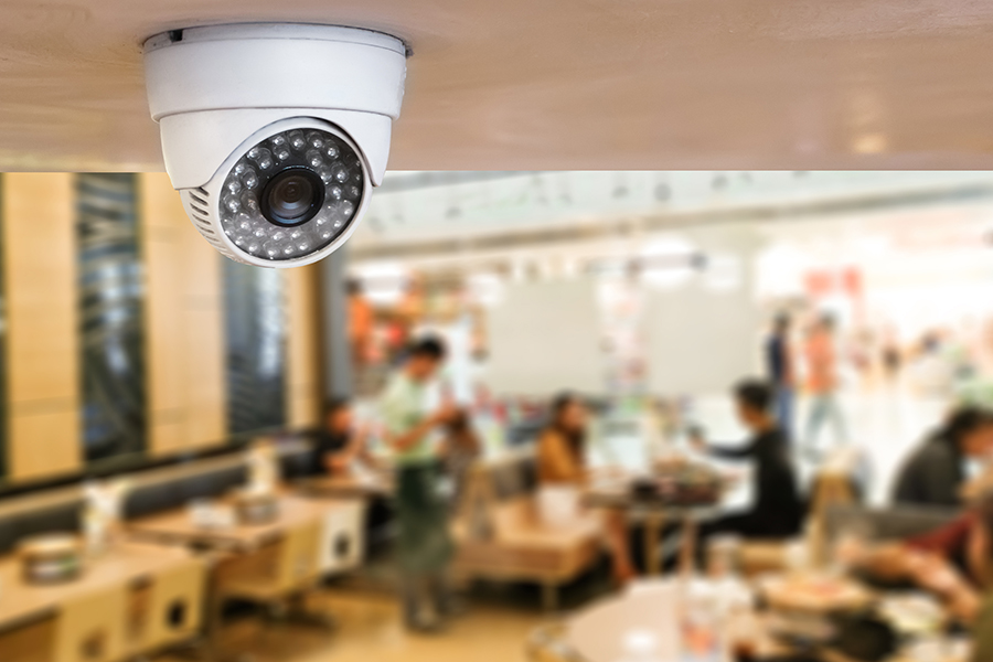 restaurant and retail camera system