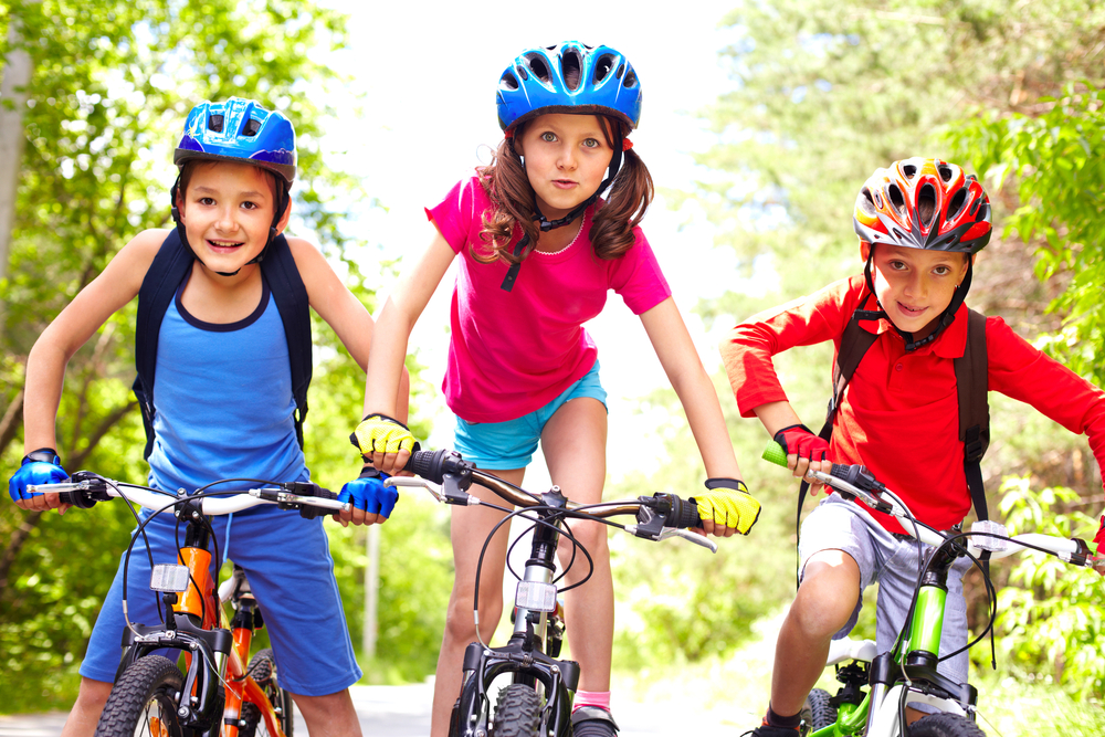 ENCOURAGING YOUR KIDS TO STAY FIT