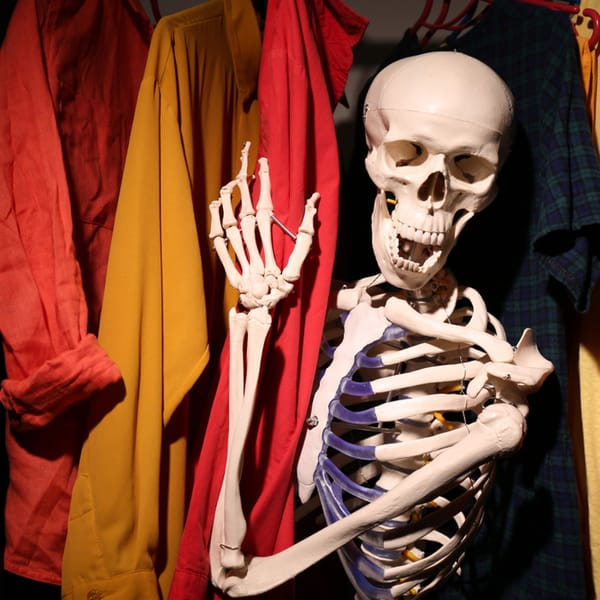 DOES YOUR FAMILY HAVE A SKELETON IN THE CLOSET?