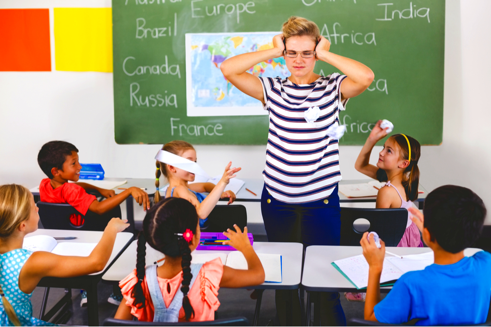 A TEACHER'S GUIDE TO STAYING CALM AMIDST CHAOS