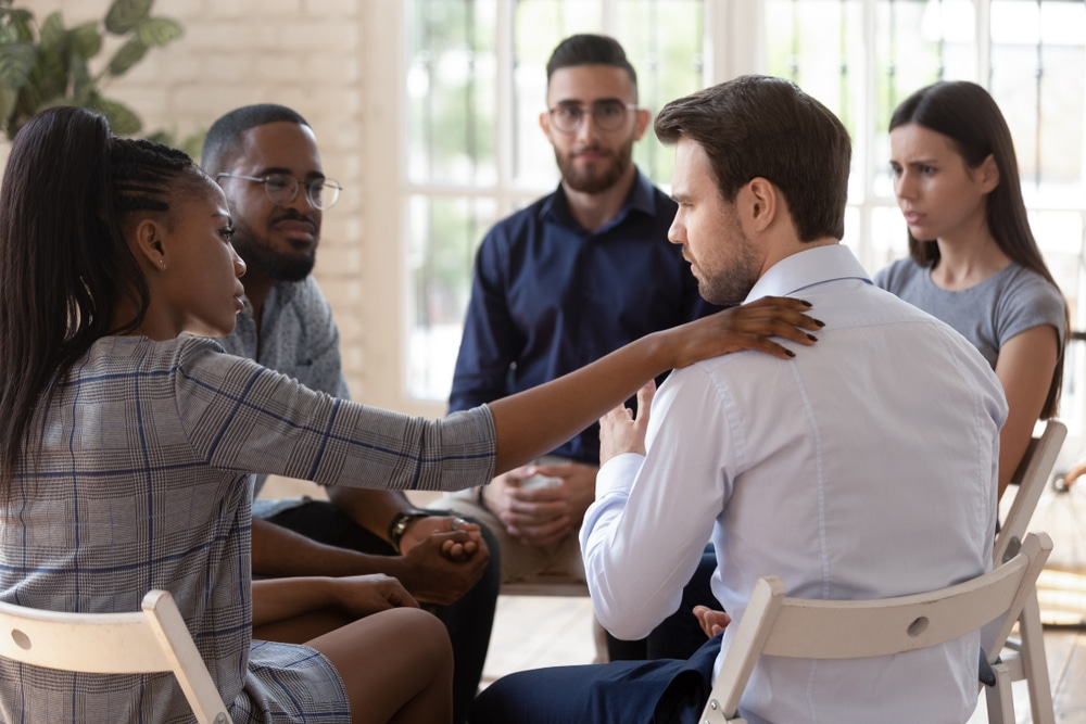 Inpatient rehab provides fundamentals to addiction recovery, such as group therapy, individual counseling, group support, and medication.